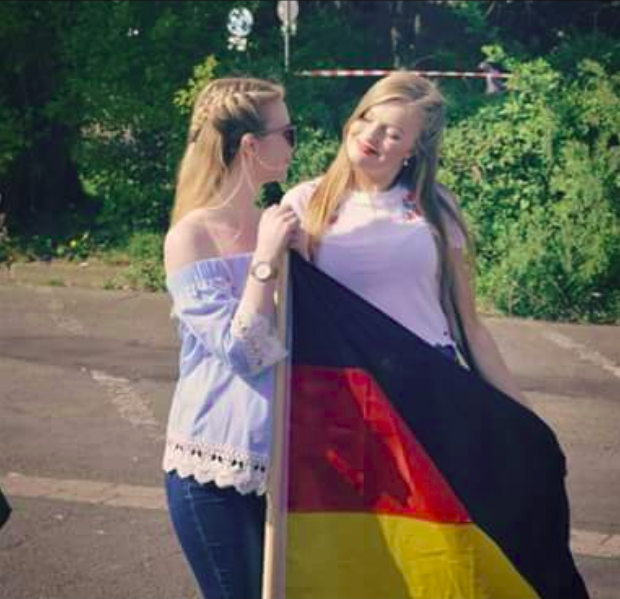 Ann-Marie Diederichs und Luisa Bredemeier
